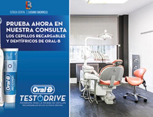Clínica Dental Luciano Badanelli se une a Oral-B para participar en su programa TestOdrive