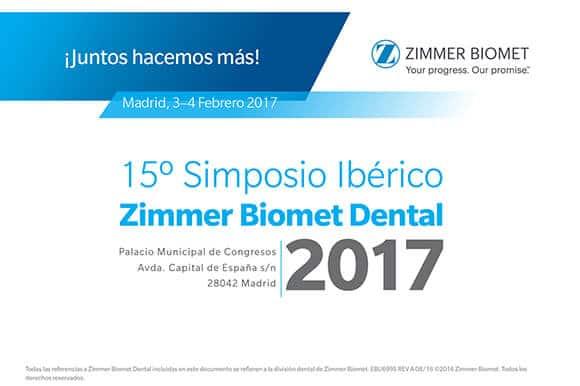 Luciano Badanelli en Simposio Ibérico Zimmer Biomet 2017