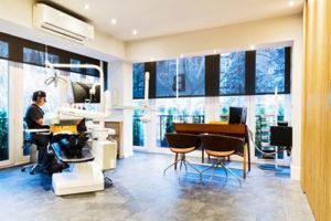 La clínica - Amplios gabinetes